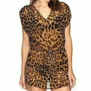 LAUREN RALPH LAUREN Women's Leopard-Print Tunic